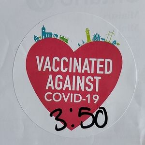 I AM FULLY VACCINATED!